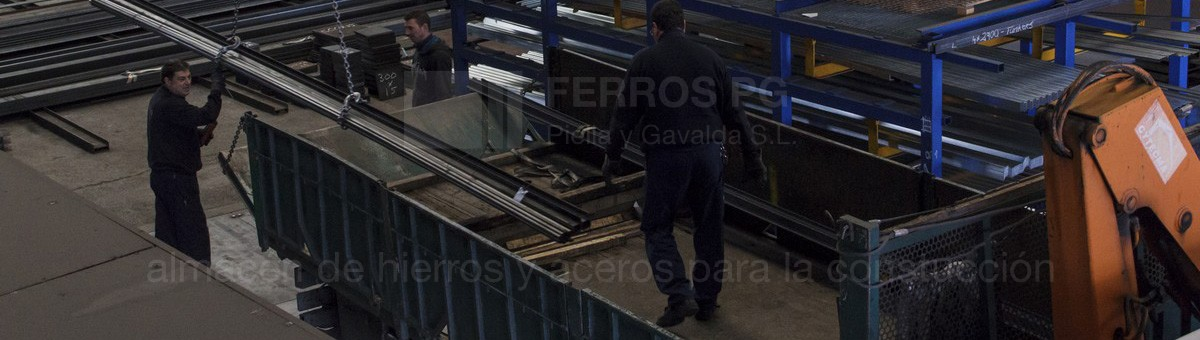 Storage and handling of iron and steel Ferros PG