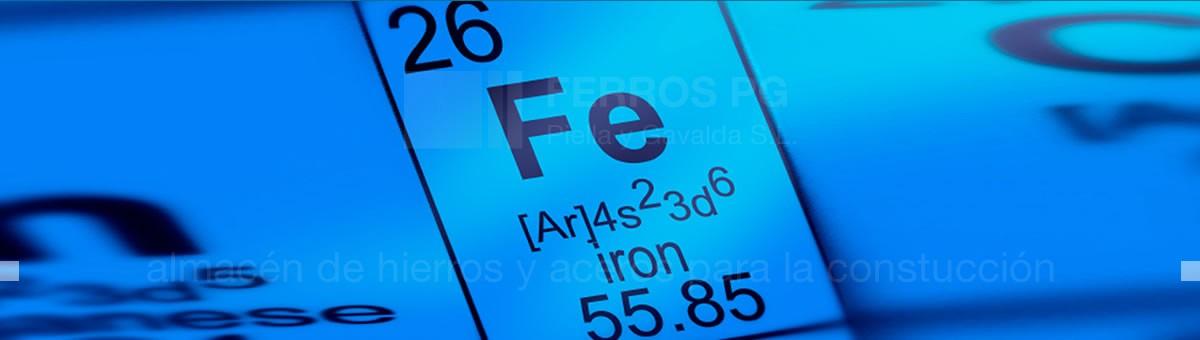ferrous materials · Iron and steel Ferros PG